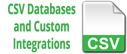 CSV databases icon